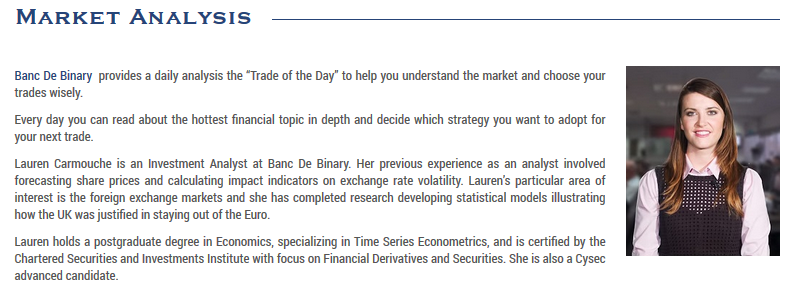 Banc de Binary Market Analysis