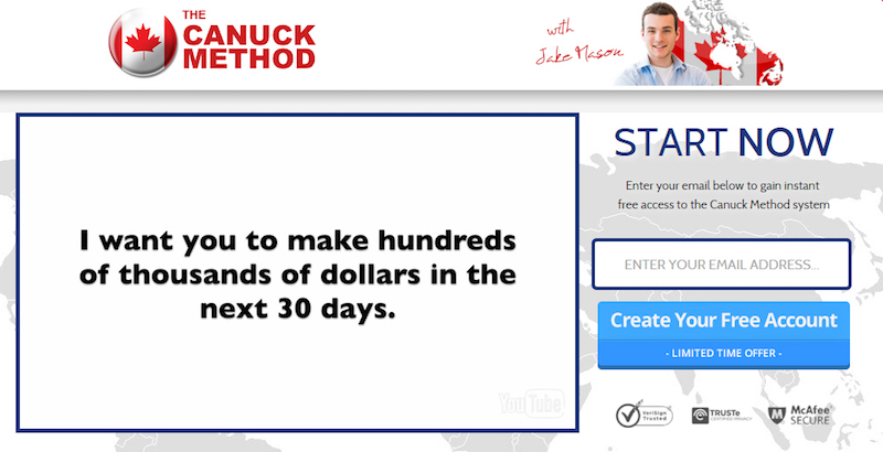 Canuck Method_screenshot