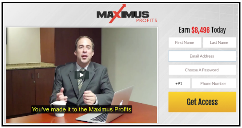 Maximus Profits_screenshot