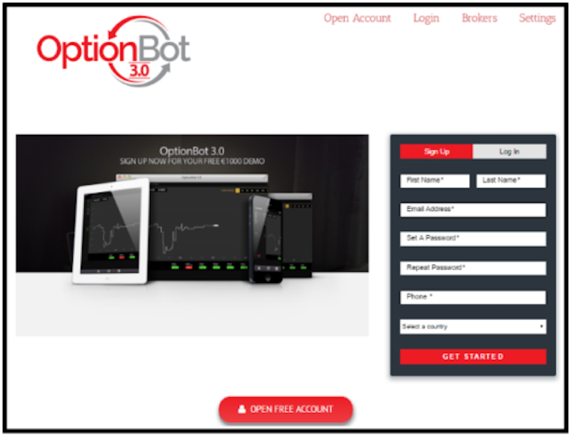 OptionBot 3.0_screenshot
