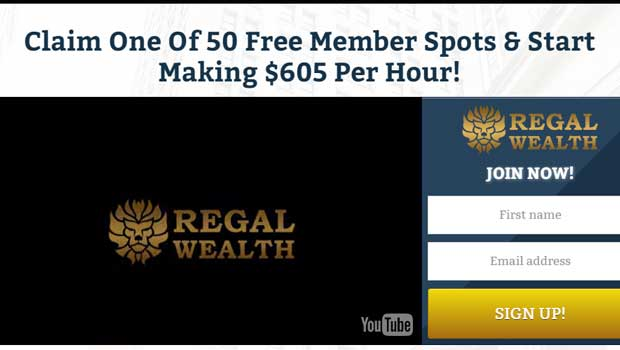 Regal Wealth_screenshot