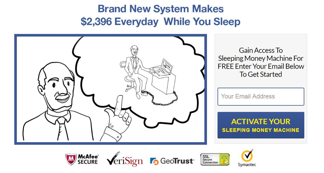 Sleeping Money Machine screenshot